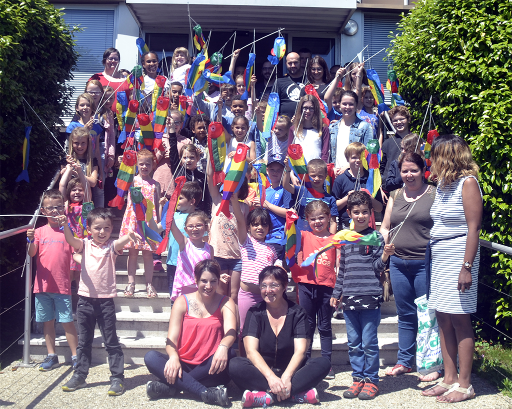 Journée des enfants chez MerAlliance